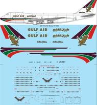 1/200 Scale Decal Gulf Air Boeing 747-283B
