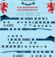 1/72 Scale Decal Caledonian Douglas DC-6B