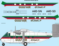 1/72 Scale Decal Gulf Air Shorts Skyvan