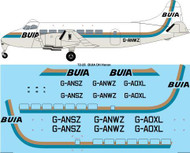 1/72 Scale Decal BUIA / British United DeHavilland Heron