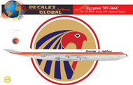 1/144 Scale Decal EgyptAir 707-366C