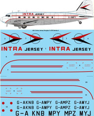 1/48 Scale Decal Intra Jersey Douglas C-47B / DC-3 Dakota 4