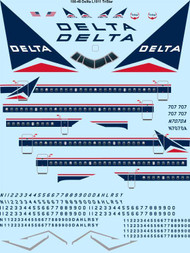 1/100 Scale Decal Delta TriStar
