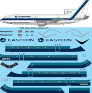 1/100 Scale Decal Eastern Lockheed L1011 TriStar