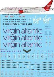 1/200 Scale Decal Virgin Atlantic Boeing 787-9