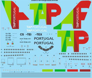 1/144 Scale Decal TAP Portugal Airbus A310-300
