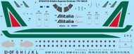 1/144 Scale Decal Alitalia Express Embraer 170-100LR