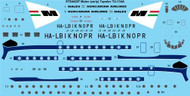 1/144 Scale Decal Malev (early) Tupolev TU-134A
