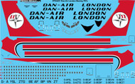 1/144 Scale Decal Dan-Air London Boeing 707