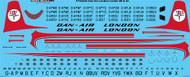 1/144 Scale Decal Dan-Air London DH Comet 4B & 4C