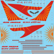 1/144 Scale Decal Air India Boeing 777-237LR