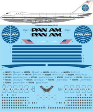 1/144 Scale Decal Pan Am (late) Boeing 747-121