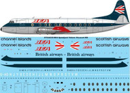 1/144 Scale Decal BEA Vickers Viscount 800