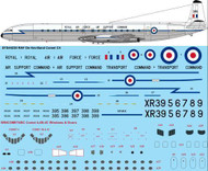 1/144 Scale Decal RAF De Havilland Comet C4
