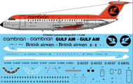 1/144 Scale Decal Cambrian BAC 1-11 400