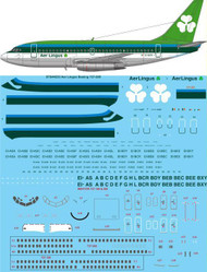 1/144 Scale Decal Aer Lingus Boeing 737-200