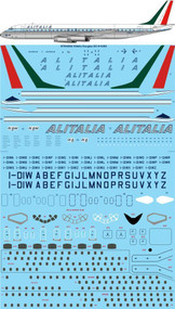 1/144 Scale Decal Alitalia Delivery Douglas DC-8-43 / 62