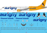 1/144 Scale Decal Aurigny Embraer 195 STD