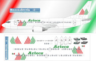 1/500 Scale Decal Azteca 737-300