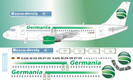 1/144 Scale Decal Germania A-319 new scheme