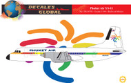 1/144 Scale Decal Phuket Air YS-11