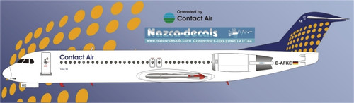 1/144 Scale Decal Contact Air F-100