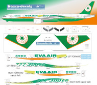 1/200 Scale Decal Eva Air B777-300