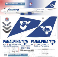 1/144 Scale Decal Panalpina Air Cargo 747-8F