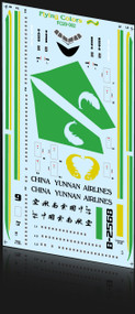 1/200 Scale Decal China Yunnan 767-300