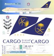 1/144 Scale Decal Saudia 747-8F