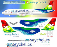 1/144 Scale Decal Air Seychelles A-320