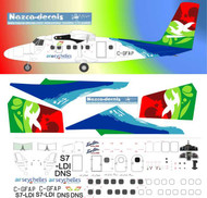 1/72 Scale Decal Air Seychelles Twin Otter