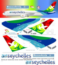 1/144 Scale Decal Air Seychelles 767