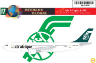 1/144 Scale Decal Air Afrique A-300