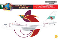 1/144 Scale Decal Air Niugini 737-200