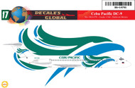 1/144 Scale Decal Cebu Pacific DC9-30