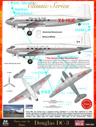 1/144 Scale Decal TRANS MAR DE CORTES DC-3