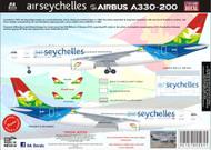 1/144 Scale Decal Air Seychelles A330-200