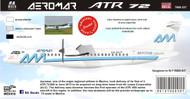 1/144 Scale Decal Aeromar ATR-72-600