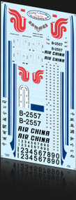 1/144 Scale Decal Air China 767