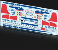 1/144 Scale Decal Northwest DC-6B