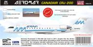1/144 Scale Decal Aeromar CRJ-200
