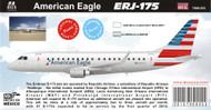 1/144 Scale Decal American ERJ-175