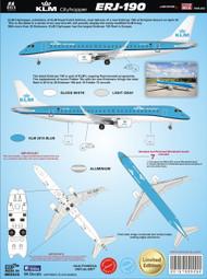 1/144 Scale Decal KLM 2015 ERJ190