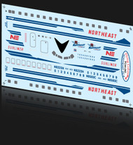 1/144 Scale Decal Northeast DC-6B