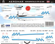 1/144 Scale Decal Aeromar ATR-42