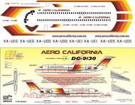 1/144 Scale Decal AeroCalifornia DC9-30