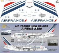 1/144 Scale Decal Air France A-380 2009
