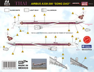 1/144 Scale Decal Thai Airways A330-300