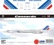 1/144 Scale Decal Air France Concorde
